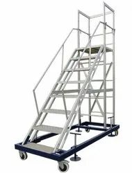 Aluminium Trolly Step Ladder