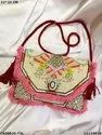 Exclusive Designer Boho Bag With Leather Belt