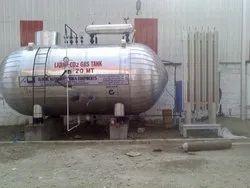 20 MT Liquid Carbon Dioxide Tanks
