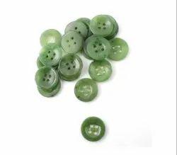 Carved Button Shaped Gemstone, Polished