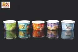 Ice Cream Paper Cup, Packet Size: 5000, Size: 100 Ml