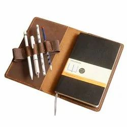 Diary Cover With Pen Loop