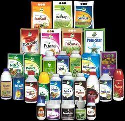 Pesticide And Fertilizer Bottle Sticker