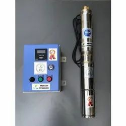 Solar BLDC SS Submersible Pump With Controller