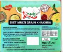 Gujarat Round Diet Multi Grain Khakhra, Packaging Type: Vacuum Pack, 3 Month