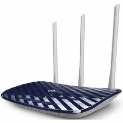 Black Tp Link Archer C20 Wireless Dual Band Router, 200-400 Mbps