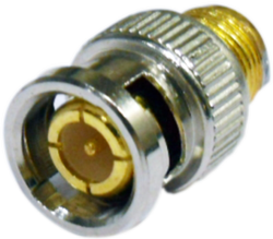 BNC Male Connector Solder and Moulding Type