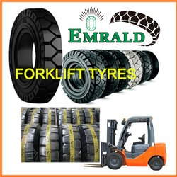 Emrald Solid Tyre Size 18x7-8/4.33, For Construction