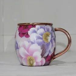 DCI Digital Printed Copper Mug, Size: 16oz