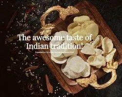 Indian Spiced Appalam, papad