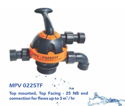 Top Mount Multiport Valve (0225f - Filter,20nb, Flow Upto 2 M3/Hr)