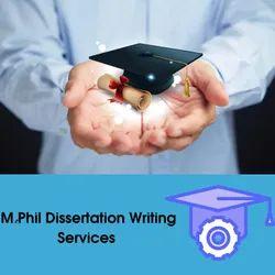 M.Phil Dissertation Writing Services In Delhi
