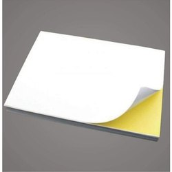 Paper White 10 Inch A4 Self Adhesive Barcode Label, Packaging Type: Packet