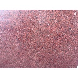 Polished Red Granite Slab, For Flooring, Thickness: 16 mm