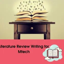 Literature Review Writing for Mtech