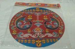 20 Inch Zagmag Rangoli Sticker