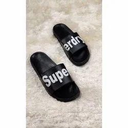 Tan Superdry Mens Slippers Mule Slippers