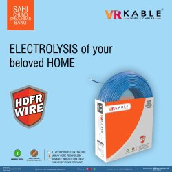 VR Kable 10.00 Sq Mm HDFR Unilayer Wire
