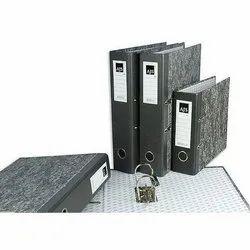 Clip Cardboard AJS Box File