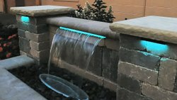 S.S Multicolor Water Sheet Fountain