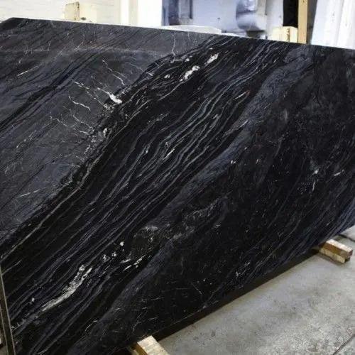 ABU Black Marbles, संगमरमर की पटिया, मार्बल स्लैब - Shree Ganpathi Granites  & Marbles, Bengaluru | ID: 2864756533