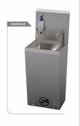 Foot Operated Hand Wash Sink Stainless Steel