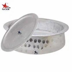 Round Nutristar Aluminium Handi / Heavy Guage Biryani Handi with Lid