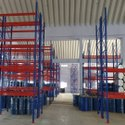 10 Feet Powder Coated Ms Warehouse Rack, 50 Kg Per Layer