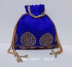 Lace Potli Bags