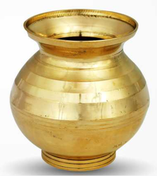Brass Medium Puja Kalash