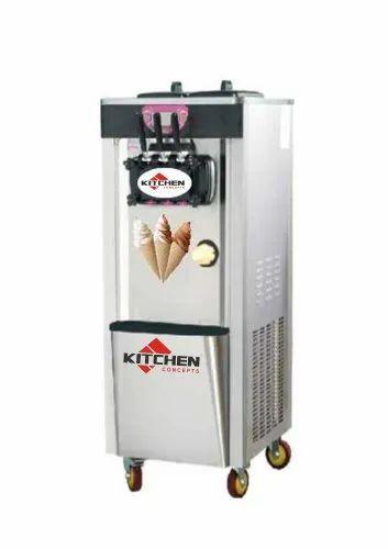 Ice Cream Softy Making Machine Tank Capacity 0 5 Litres Rs 70000 Piece Id 14069542191
