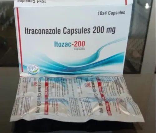 Itraconazole  Capsules 200mg
