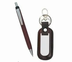 Promotional Pen And Keychain