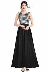 White Richa Fashion World Designer Gown
