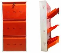 Shoe Rack-Shiv Classics 6pair-3door