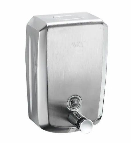 AV&T Stainless Steel Soap Dispenser