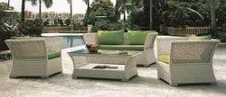 Modern Multicolor Garden Sofa Set, Open Space