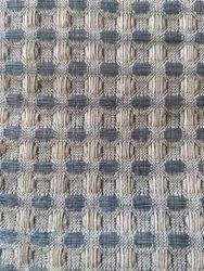 Cotton Linen Waffle Fabric