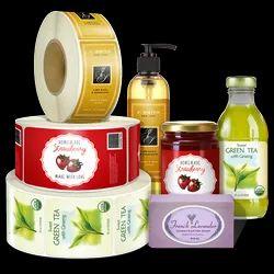 Cosmetics And Healthcare Label Sticker