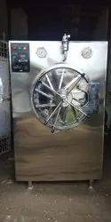 Horizontal Cylindrical Autoclave Semi-Automatic With Multipood Wall