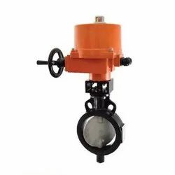 1078F Electrical Actuator Wafer Butterfly Valve
