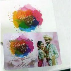 Engagement Invitation Card, 1 Leaflet