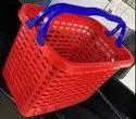 Plastic Hand Shopping Basket