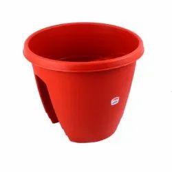 Medium Reeva Railing Pot-13 Semi