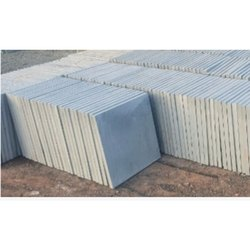 Grey Kota Limestone Tiles, Thickness: 20 Mm