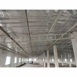 depand you Prefab Industrial Roofing Shed With Temperature Isolated, Capacity: Up To 6 Ton