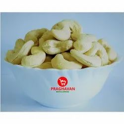 Praghavan White W320 India Cashew Nuts, Packaging Size: Available in 1 kg and 10 kg