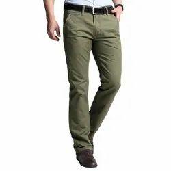 Extremes Plain Mens Casual Cotton Trouser