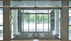 Dorma Transparent Automatic Sensor Door