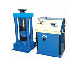 Compression Testing Machine With Digital Display  With Rs232 Computer Attachable